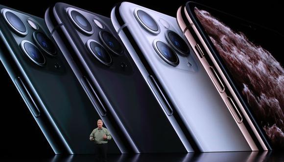Los nuevos celulares de la firma de la manzana estarán disponibles a partir del 20 de setiembre. (Foto: AFP)