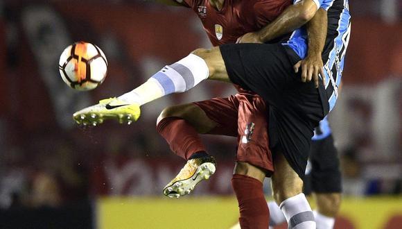 Independiente de Avellaneda recibe al Gremio de Porto Alegre esta noche (7:00 p.m. EN VIVO ONLINE por FOX Sports) por el partido de ida de la Recopa Sudamericana 2018. (Foto: AFP)