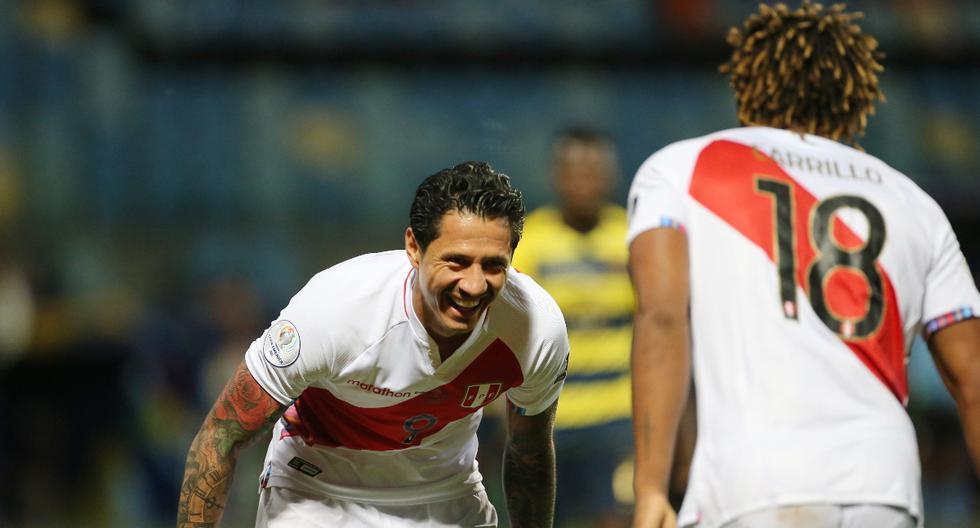Gianluca Lapadula y André Carrillo fueron los goleadores de Perú en la Copa América 2021 | Foto: REUTERS