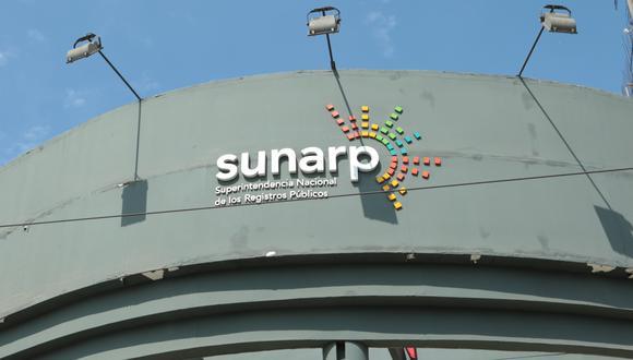 Sunarp es un organismo descentralizado autónomo del sector Justicia. (Foto: GEC)