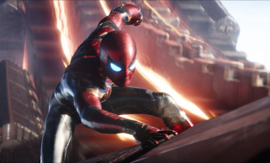 Spiderman (Tom Holland) luchará primero en Nueva York, donde persigue la Nave-Q de Thanos, misión que podría costarle la vida. Tras ello luchará en Titán junto a Iron Man. (Foto: Marvel Studios)