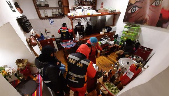 Hasta la fecha son 50 locales los que fueron intervenidos. (Foto: Juan Sequeiros)