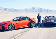 Michelle Rodriguez cumple 42 años: el día que alcanzó los 323 km/h en un Jaguar   VIDEO