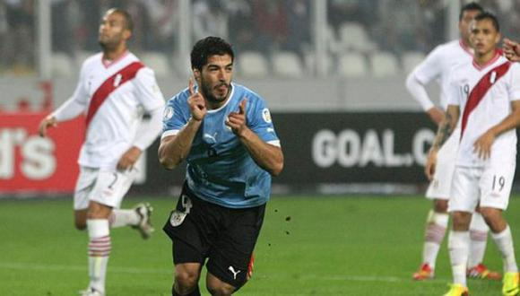 """¿Por qué en Uruguay llaman a Suárez la """"pesadilla"""" de Perú?"""