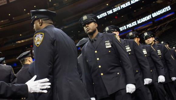 La NYPD cuenta con más de 36.000 oficiales y es la mayor del país. (Foto: AFP)