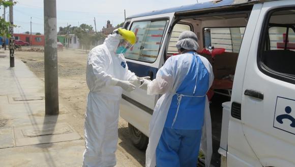 Los grupos están conformados por un médico cirujano, un trabajador de salud ambiental, un chofer y personal de apoyo. (Cortesía Red de Salud Pacífico Norte)