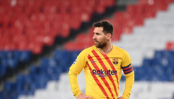 Lionel Messi junto al Barcelona no han llegado a la final de la Champions League en los últimas seis temporadas. (Foto: AFP)