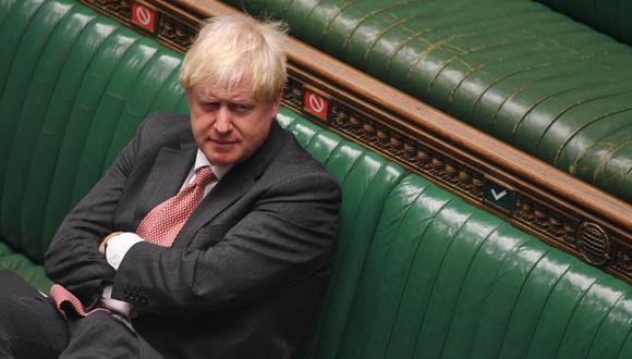 El primer ministro británico, Boris Johnson, durante el debate sobre el proyecto de ley del mercado interno en la Cámara de los Comunes en Londres, Reino Unido. (Foto: Parlamento del Reino Unido / Jessica Taylor / REUTERS9.