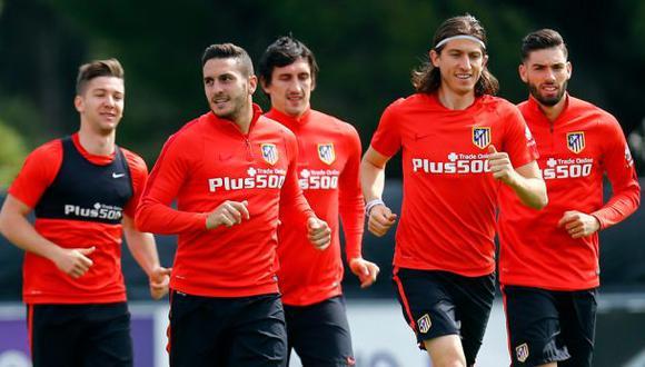 Simeone exprime a su defensa para frenar a Bale, CR7 y Benzema