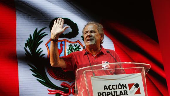 """""""No escuchar a la juventud en un partido que nació en 1956 como un partido de la juventud es un trágico error histórico"""", señaló Alfredo Barnechea. (Foto: Anthony Niño de Guzmán / GEC)"""