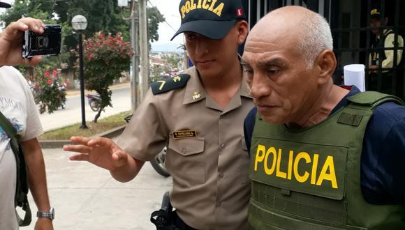 Lelis Iván Hernández Cabrera causó varios cortes a Jeanne del Águila Castro, con quien tiene tres hijas. Ella se encuentra internada en el hospital regional. (Foto: Hugo Anteparra)