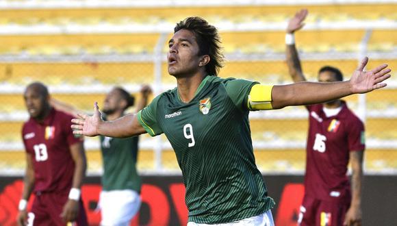 Marcelo Martins marcó un doblete y es uno de los goleadores de las Eliminatorias. | Foto: EFE