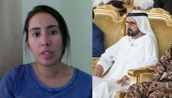 La rara desaparición de la princesa de Dubái que escapaba de su padre y de su destino. (Foto: Captura / AFP)