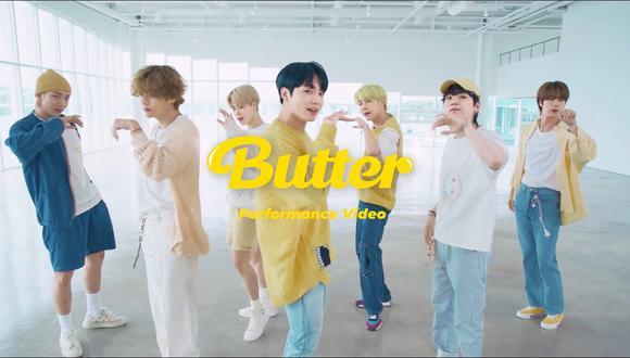 """BTS lanza nuevo álbum llamado """"Butter"""" con una canción dedicada a sus fanáticos. Foto: Canal de Youtube BANGTANTV"""