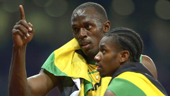 "Usain Bolt: ""Me entrené para vencer a Blake, solo a él"""