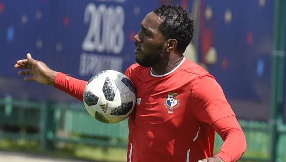 Luis Tejada tiene 43 goles con la selección de Panamá. (Foto: AFP)