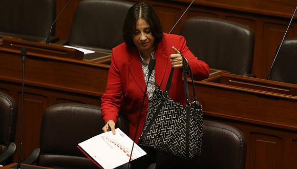 Ministra Midori de Habich será interpelada hoy en el Congreso