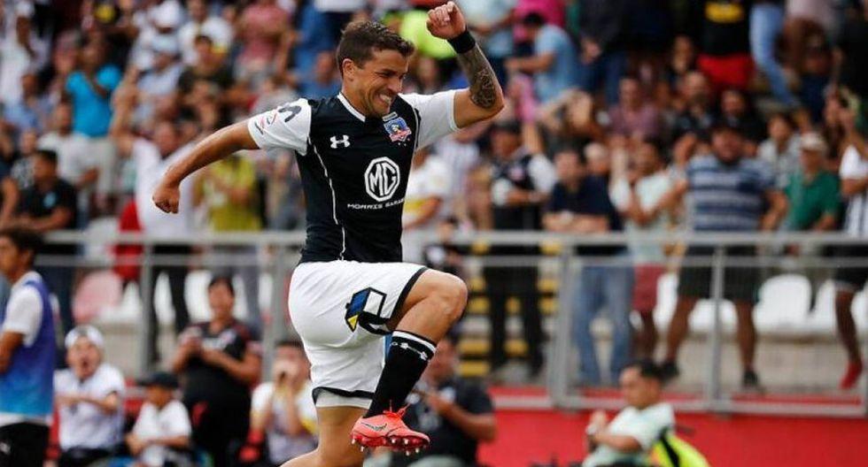 El jugador de Colo Colo, Gabriel Costa, no será convocado por  Ricardo Gareca. Pedro Aquino tampoco estará en la lista debido que viene recuperándose de una lesión. (Foto: Photosport).
