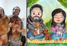 WUF: se mudaron juntos y decidieron adoptar dos perros para agrandar su familia