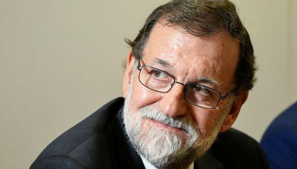 Mariano Rajoy, jefe del Gobierno español. (Foto: AFP)