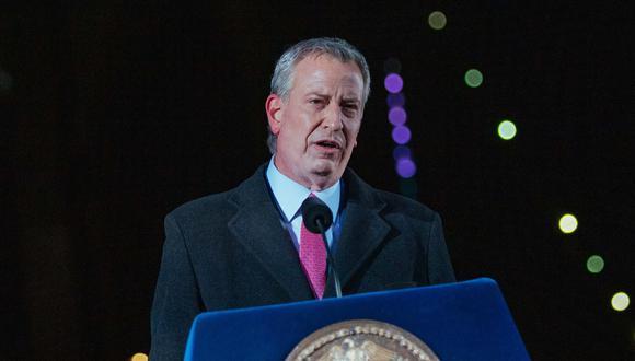 El alcalde de Nueva York, Bill De Blasio. (Foto: Archivo/ Kevin Hagen / POOL / AFP).