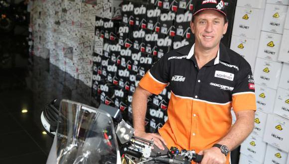 Dakar: Carlo Vellutino, el único motociclista peruano en rally