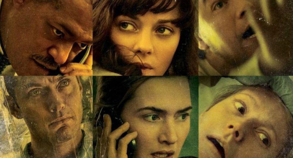 Contagio. película estadounidense dirigida por Steven Soderbergh y protagonizada por Matt Damon, Jude Law, Kate Winslet, Laurence Fishburne, Marion Cotillard y Gwyneth Paltrow.