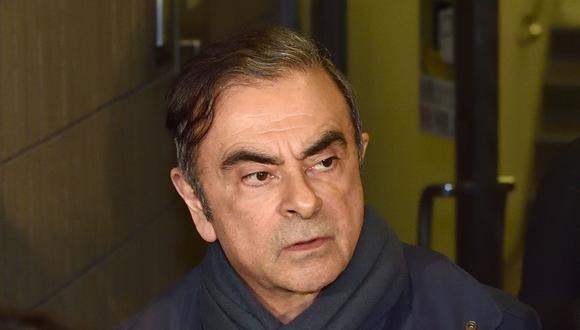 Se sospecha que Carlos Ghosn habría hecho uso personal de parte de unos fondos de Nissan y Renault transferidos a una distribuidora. (Foto: AFP)