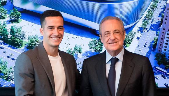 Lucas Vázquez renovó con el Real Madrid hasta la temporada 2024. (Foto: Real Madrid)