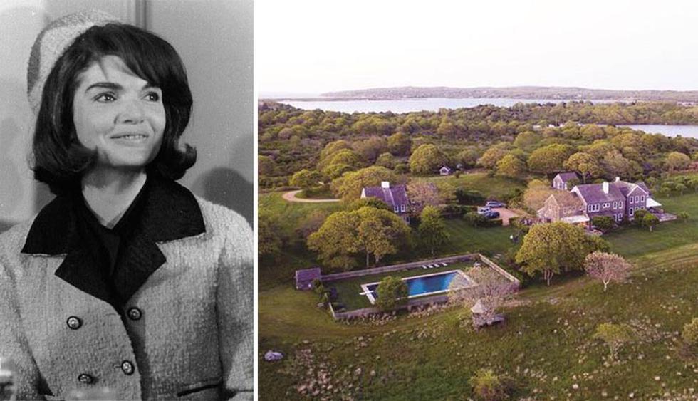 La propiedad acaba de salir a la venta, después de casi medio siglo en manos de los descendientes de Jackie Kennedy. Se ubica en Martha's Vineyard, una isla de la costa este de los Estados Unidos. (Foto: Realtor)