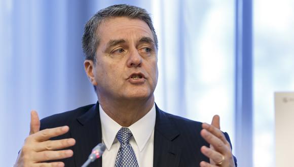Roberto Azevedo, director de la OMC. (Foto: AP)