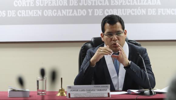 Juez Jorge Chávez Tamariz dictó 18 meses de prisión preventiva para los abogados involucrados en el caso de los arbitrajes de Odebrecht (Foto: GEC)
