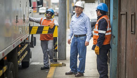 El negocio de distribución eléctrica de Enel disminuyó 2,8% en el primer trimestre por un menor consumo de energía de clientes comerciales, industriales y residenciales. (Foto: El Comercio)