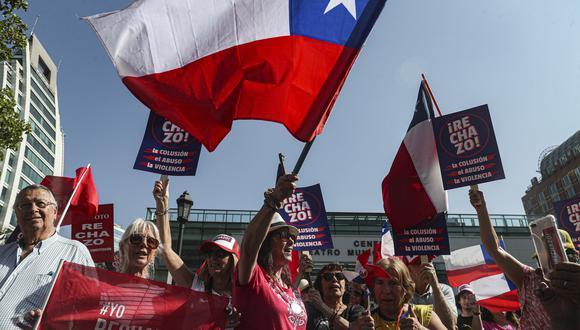 El ministro de Hacienda chileno mostró una visión optimista pese a la crisis social que enfrenta desde octubre el gobierno del derechista Sebastián Piñera. (Foto: AP)