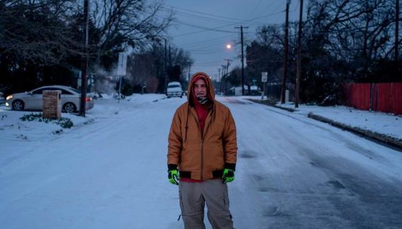 En lugares como Wako tuvieron que hacer frente al frío y a la falta de electricidad. (Foto: Getty Images, vía BBC mundo).