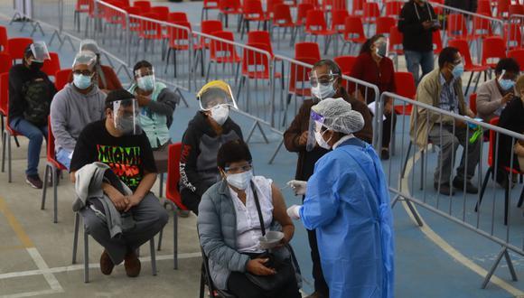 La vacunación se desarrolla en todas las regiones del país. (Foto: El Comercio / Referencial)