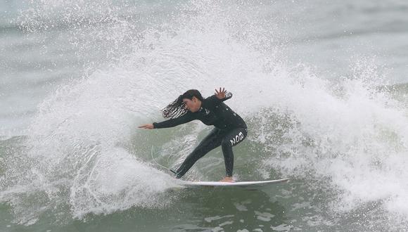 Daniella Rosas, clasificada a Tokio 2020, ya entrena en la Costa Verde. (Foto: Alessandro Currarino / GEC)