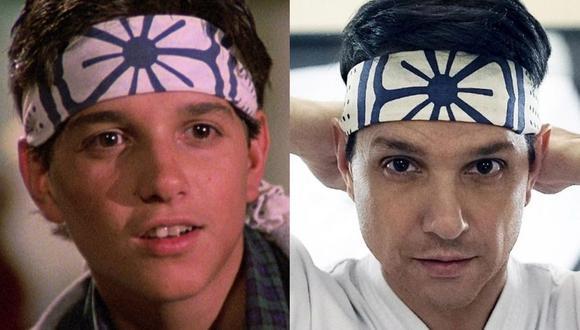 """Más de 30 años después de haber saltado a la fama como Daniel LaRusso, Ralph Macchio recuperó su personaje de """"Karate Kid"""", aunque ahora en """"Cobra Kai"""" (Foto: Columbia Pictures / Netflix)"""