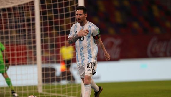 Messi marcó el 1-0 parcial del Argentina vs. Chile por la fecha 7 de las Eliminatorias. (Foto: Selección de Argentina)