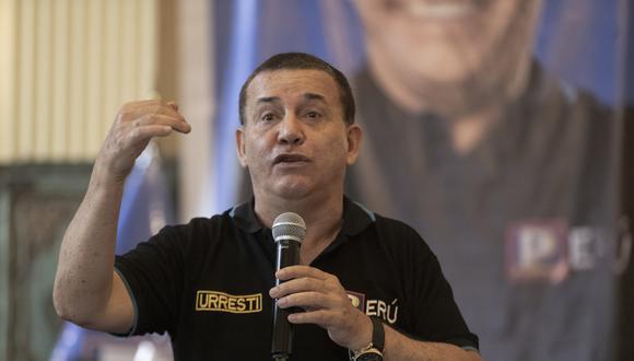 """""""Estamos tan bien inscritos y es tan firme la inscripción del partido que yo sigo participando"""", señaló Urresti. (Foto: Archivo GEC)"""