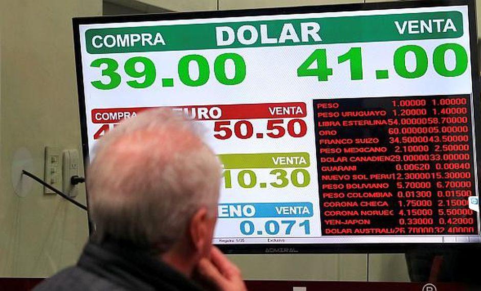 El dólar subía un 0.16% al comienzo de las operaciones de hoy. (Foto: Reuters)