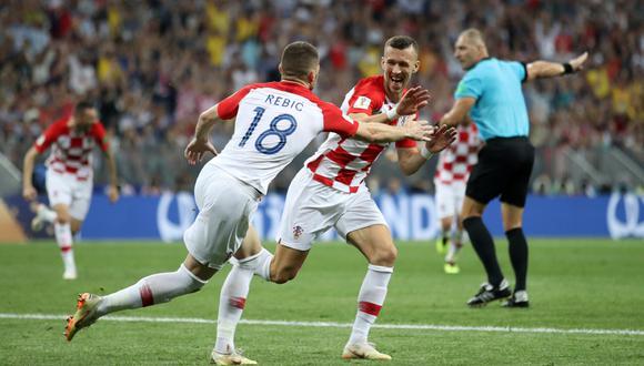 Francia vs. Croacia EN VIVO: el gol de Perisic para el 1-1 en la final del Mundial Rusia 2018 [VIDEO] (Foto: Agencias)