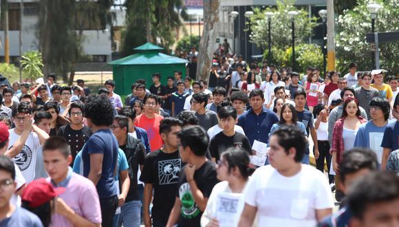 Universidad de San Marcos plantea que se realice un examen especial en marzo para el traslado de universitarios. (Foto: El Comercio)