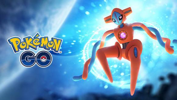 Todos los miércoles del mes, los entrenadores podrán capturar un legendario. (Foto: Pokémon GO)