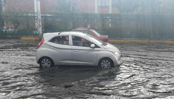 Arequipa: Por segundo día consecutivo se registran  intensas lluvias (Facebook)