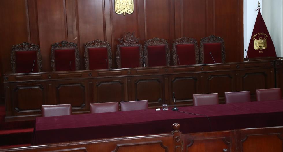 Seis de los siete magistrados del TC tienen el mandato vencido. (Foto: El Comercio)