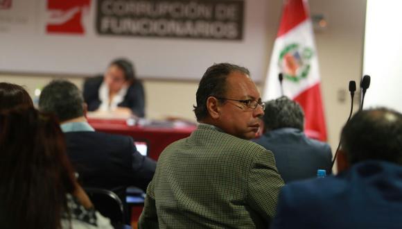 El Poder Judicial dispuso la detención preliminar del investigado Carlos García Alcázar, ex funcionario del MTC que habría ejecutado acuerdos ilícitos. (Foto: Juan Ponce/ El Comercio)