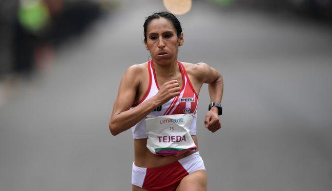 Gladys Tejeda participó en los Juegos Olímpicos Londres 2012 y Río 2016. (Foto: AFP)