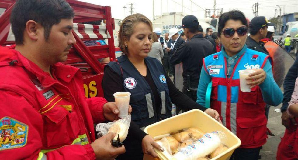 El Agustino: los bondadosos gestos hacia bomberos tras tragedia - 5