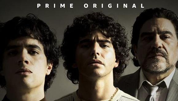 El poster de la serie alojado en IMDB.